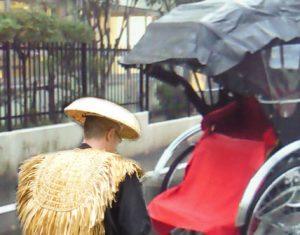 両国松武屋は雨天人力車半額